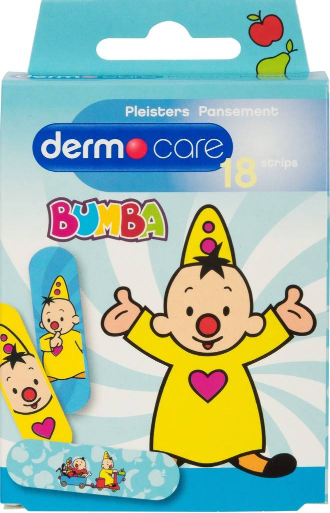 Bumba 18 patches bleu