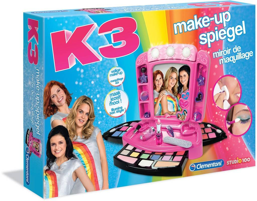 Make-up spiegel K3 Clementoni