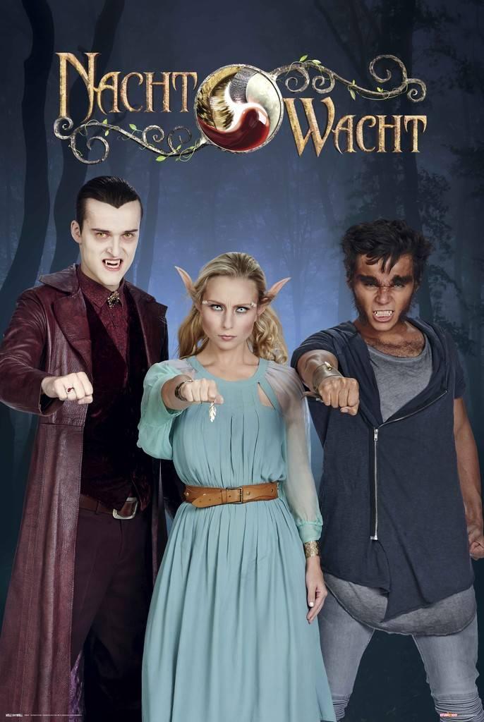 Poster Nachtwacht 40x50 cm: groep