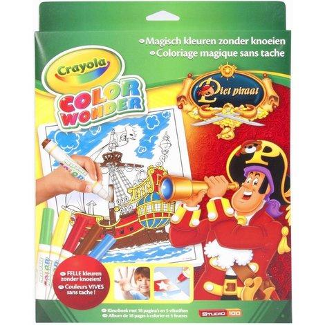 Piet Pirate Color Wonder set