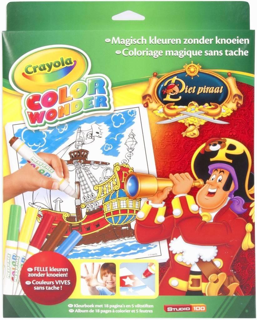 Color Wonder set Crayola Piet Piraat