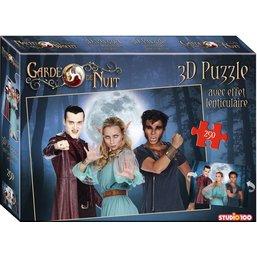 Garde de Nuit Puzzle avec effet de 3D - 250 pièces