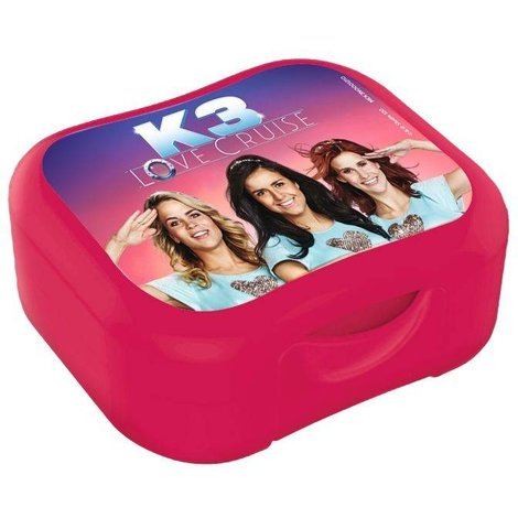 K3 Koekendoosje roze Love Cruise