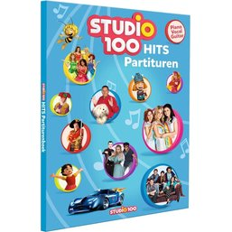 Studio 100 Boek- Partiturenboek