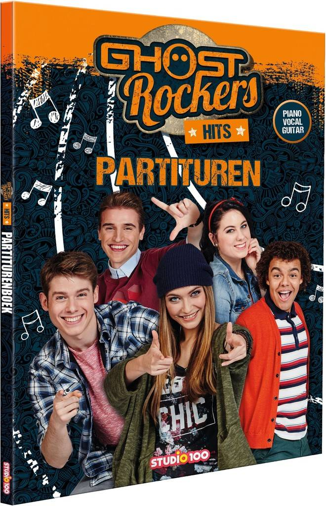 Boek Ghost Rockers: partiturenboek