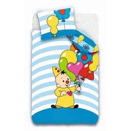 Dekbed Bumba ballonnen: 140x200cm/65x65 cm