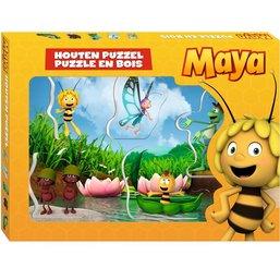Puzzle en bois Maya l'abeille - 5 pièces