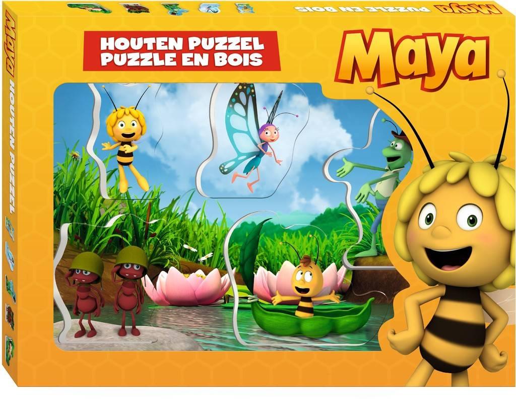 Maya Puzzle bois - 5 pièces
