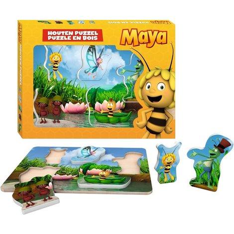 Puzzel Maya hout 5 stukjes
