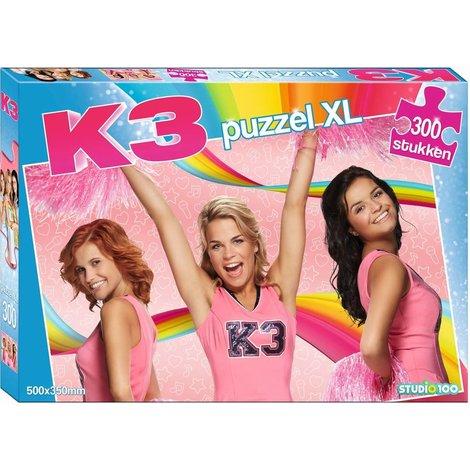 K3 Puzzel - 300 stuks XL