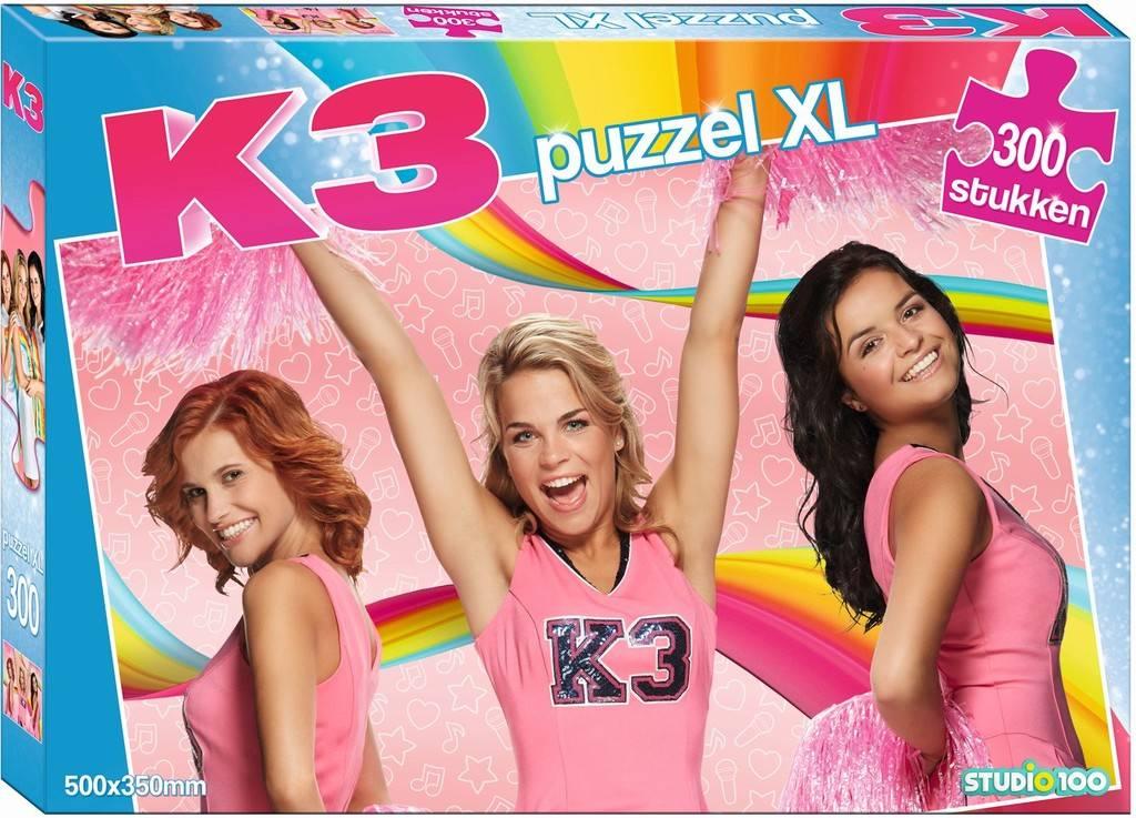 Puzzel K3: 300 stuks XL