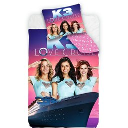 K3 Dekbedovertrek Love Cruise 140x200 cm