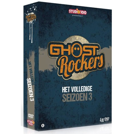Dvd Ghost Rockers: seizoen 3