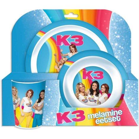 Set repas K3 - 3 pièces