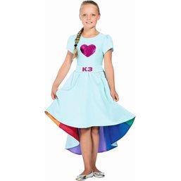 Robe de bal K3 Love Cruise - taille 3-5 ans