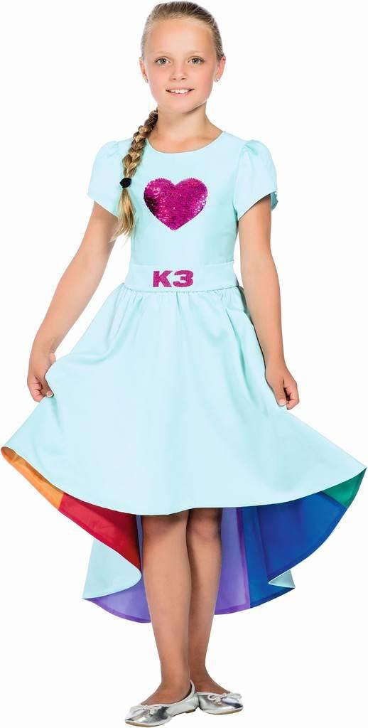 Robe de bal K3 Love Cruise - taille 9-11 ans