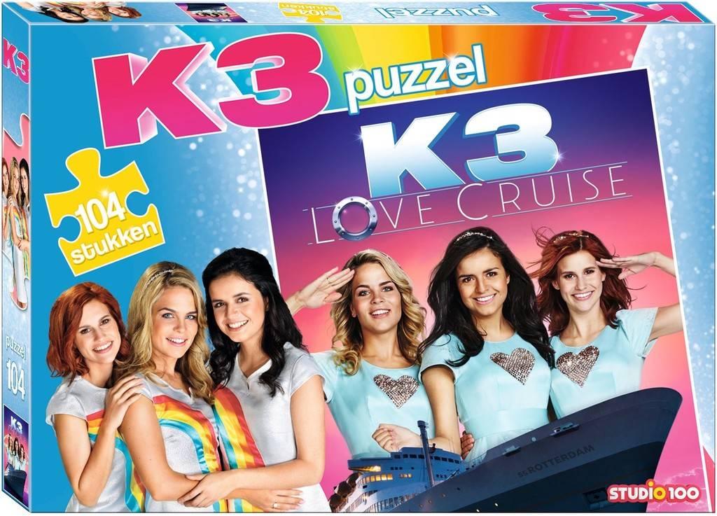 Puzzle K3- Love Cruise, 104 pièces