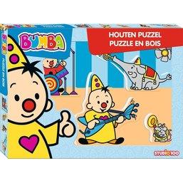 Bumba Puzzle bois - Musique 5 pièces
