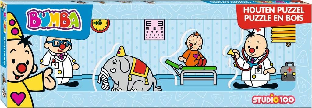 Bumba Puzzle - Mini médecin 4 pièces