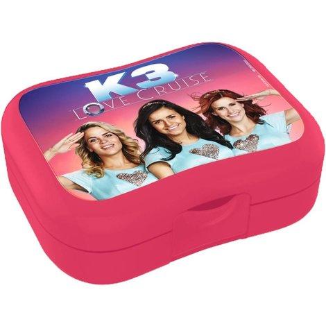 Boîte à tartines K3 - Love Cruise, rose