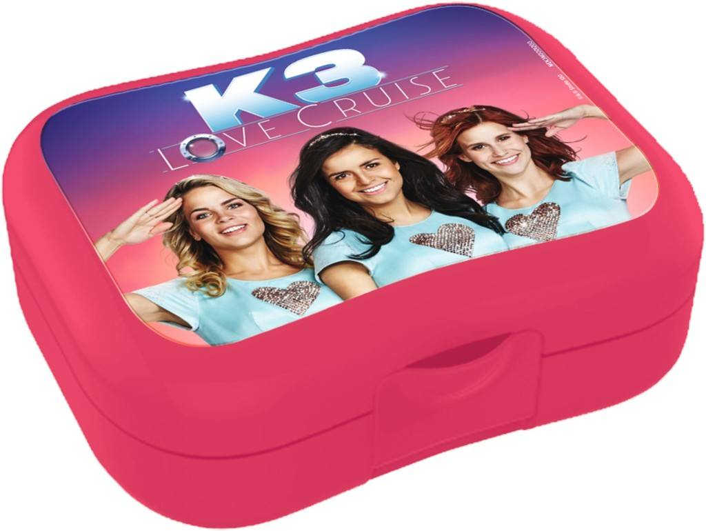 K3 Lunchbox - Love Cruise roze