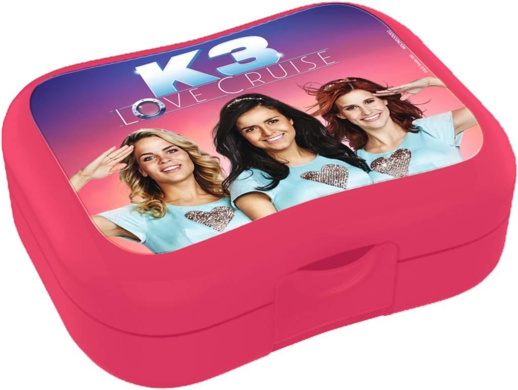 Lunchbox K3 roze: Love Cruise