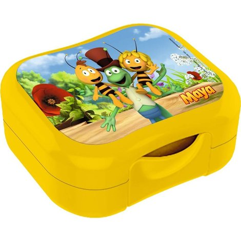 Boîte à biscuits Maya l'abeille - jaune