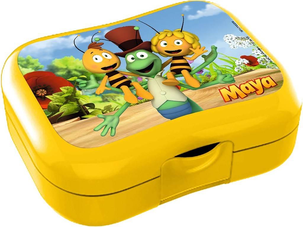 Lunchbox Maya geel