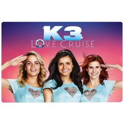 Placemat K3 roze: Love Cruise