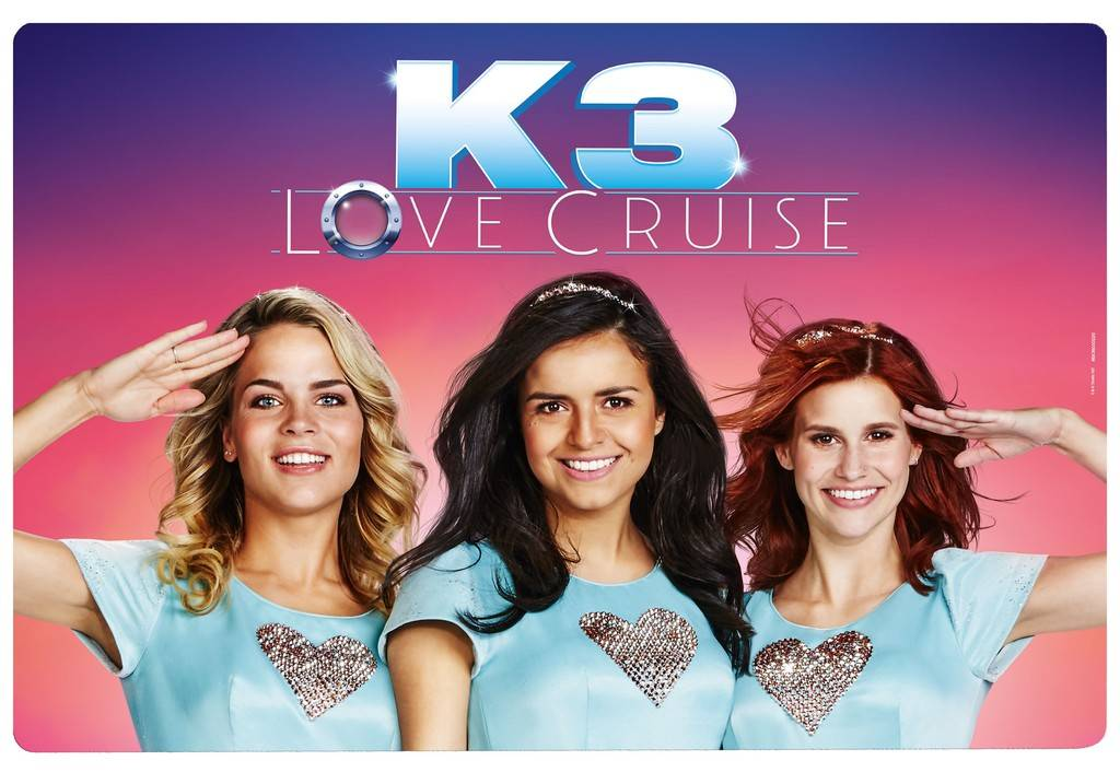 Set de table K3 - Love Cruise, rose
