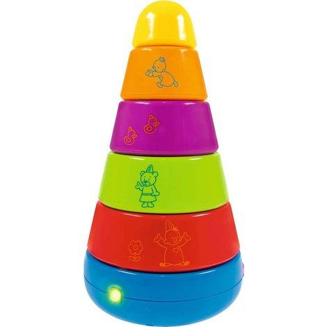 Tour d'empilage Bumba avec lumière et son
