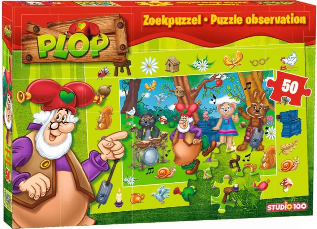 Plop en de Peppers Puzzel