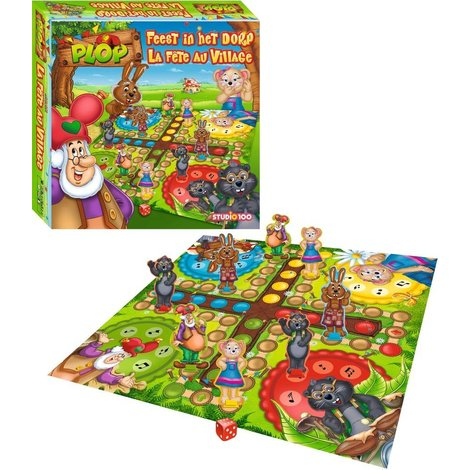 Leprechaun Plop Game - Feast in the village of Plop and the Peppers