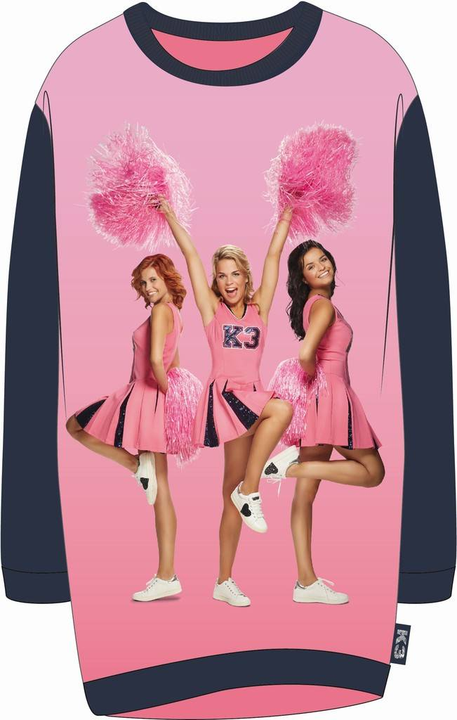 Bigshirt K3 cheerleader