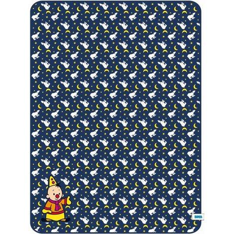 Bumba Fleece deken - IJsbeer 150x110 cm