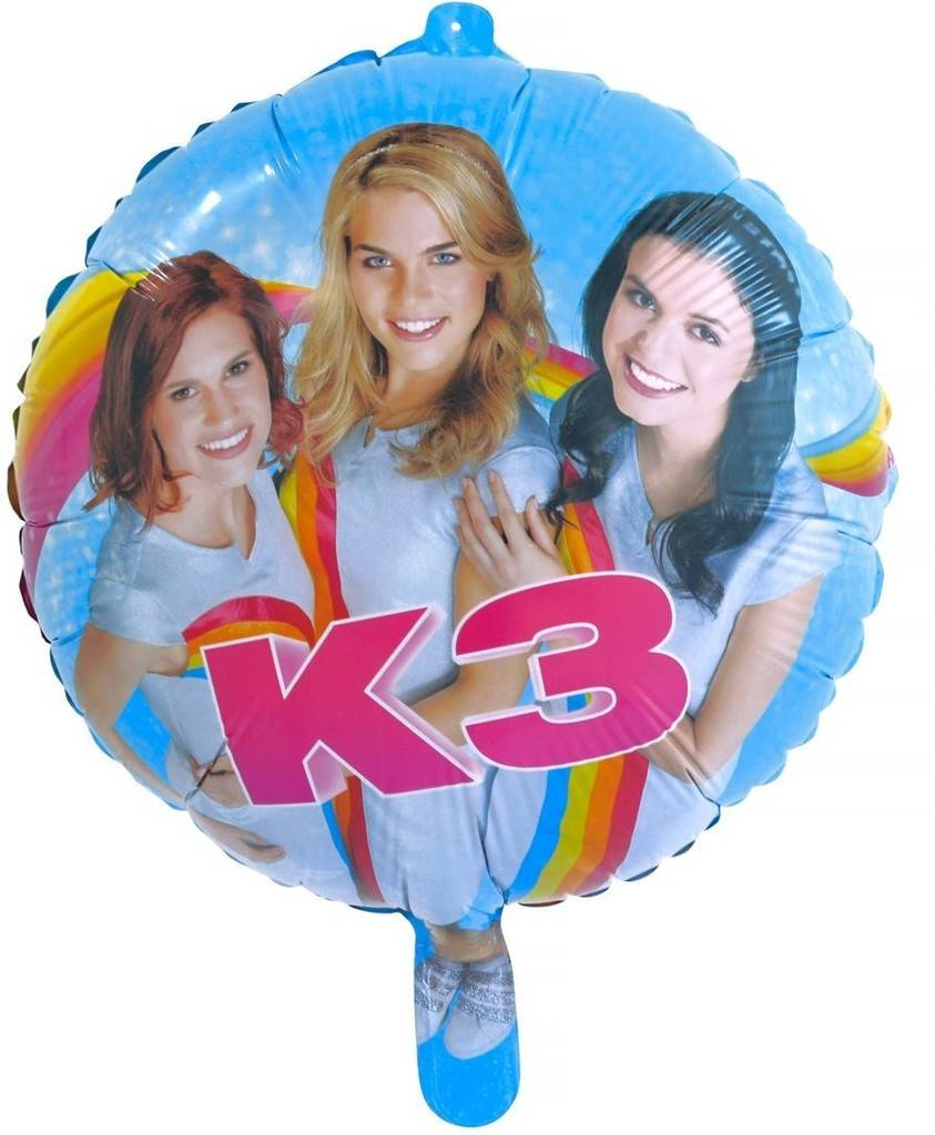 K3 Folieballon - 46 cm