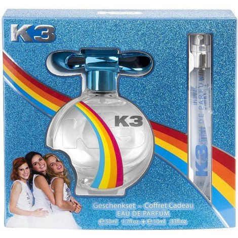 Eau de Parfum geschenkenset K3: 50 ml + 10 ml