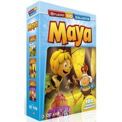 Dvd box Maya: vol. 4 + 5 + 6