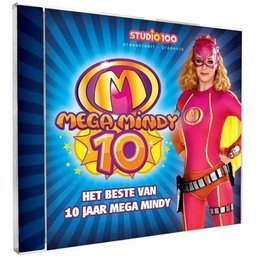 Mega Mindy CD 10 jaar Mega Mindy
