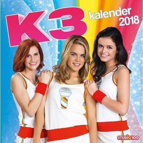 Kalender K3 2018: 30x30 cm