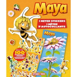 Stickerboek Maya: 1 meter