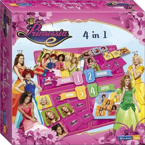 STUDIO 100 4-in-1 Prinsessia Game
