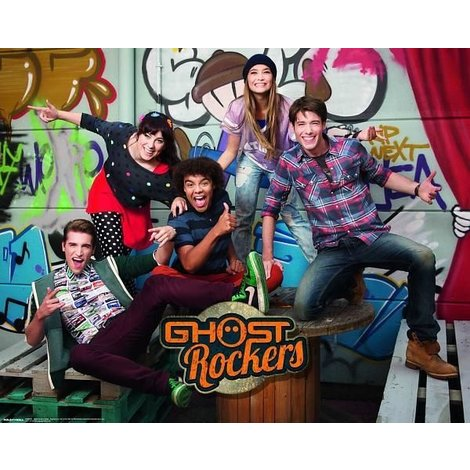 Ghost Rockers Poster - 40x50 cm