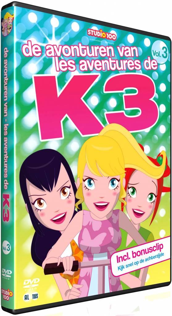 Dvd K3: Avonturen van K3 vol. 3