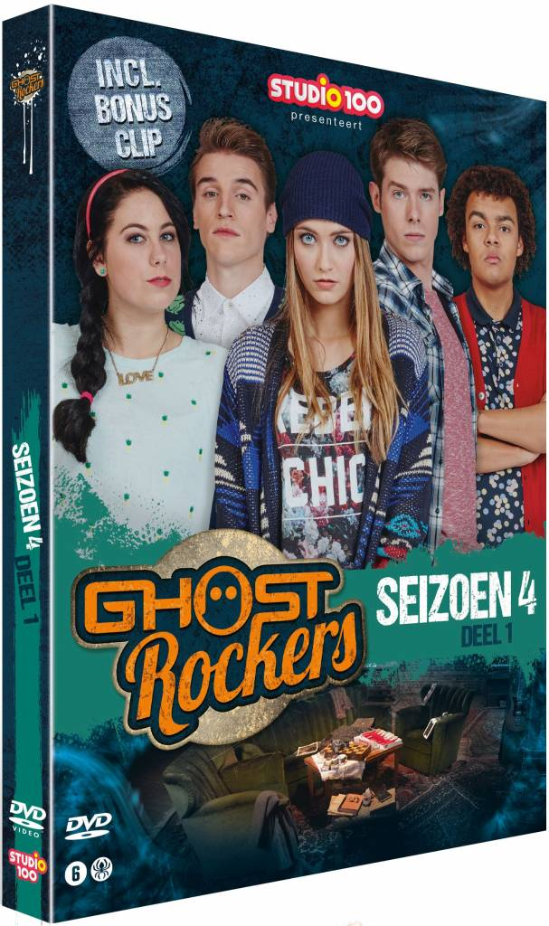 Dvd Ghost Rockers: seizoen 4 vol. 1