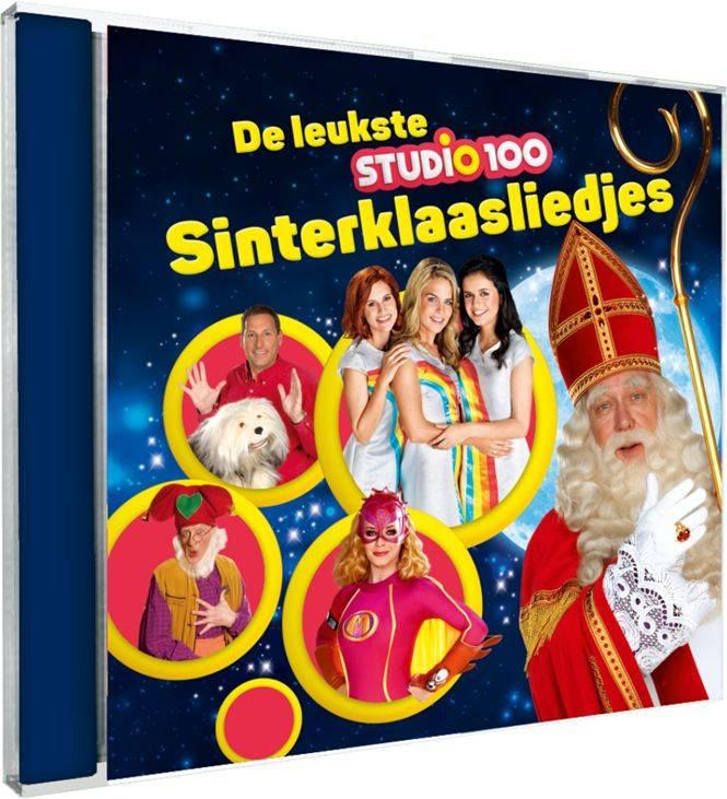 Studio 100 CD - de leukste Sinterklaasliedjes