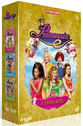 Prinsessia 3-DVD box - Vol. 1