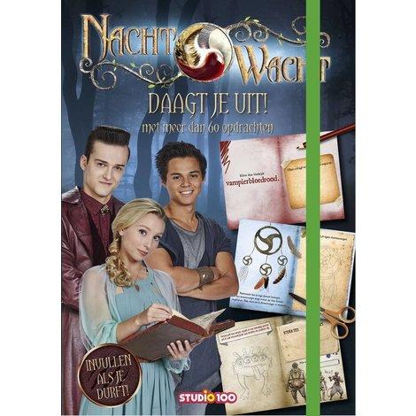 Boek Nachtwacht: Glow in the dark