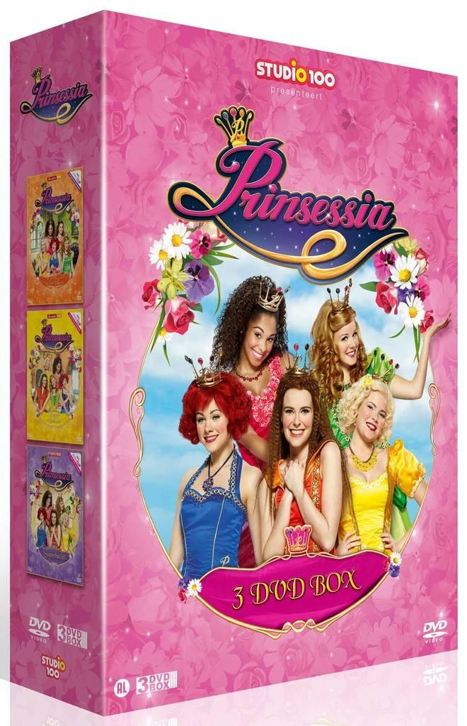 Prinsessia 3-DVD box - Vol. 2