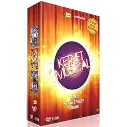 Studio 100 3-DVD box - Ketnet musicals vol. 1